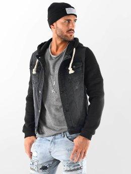 VSCT Clubwear Jean Jakker Customized Biker sort