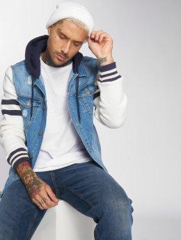 VSCT Clubwear Jeansjacken Hybrid Heritage blau