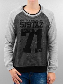 VSCT Clubwear Jersey BKLYN Sistaz Mesh gris