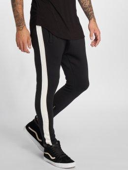 VSCT Clubwear Jogging kalhoty Stripe čern