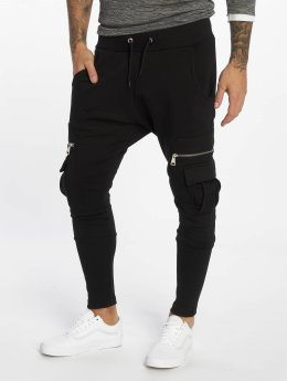 VSCT Clubwear Jogging kalhoty Future Cargo čern