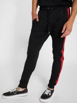 VSCT Clubwear Jogging kalhoty Noah Cuffed čern