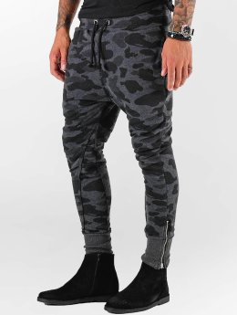 VSCT Clubwear Jogging kalhoty Camo šedá