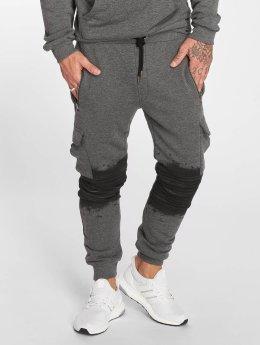 VSCT Clubwear Jogging kalhoty Cargo Oiled šedá