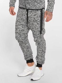 VSCT Clubwear Jogging kalhoty Melange Techfleece šedá