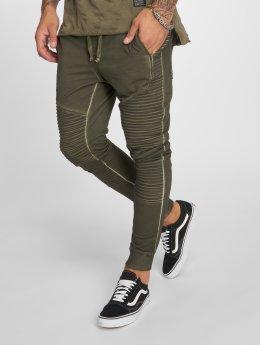 VSCT Clubwear Jogging kalhoty Biker hnědožlutý