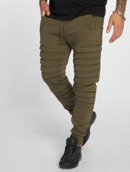VSCT Clubwear Jogging kalhoty Noah Biker hnědožlutý