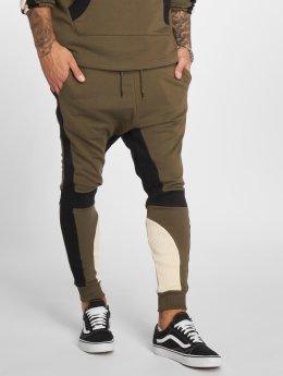 VSCT Clubwear Jogging kalhoty Racer hnědožlutý