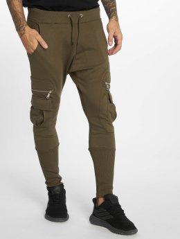 VSCT Clubwear Jogging kalhoty Future Cargo hnědožlutý