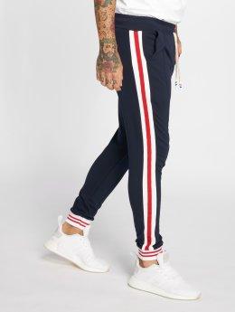 VSCT Clubwear Jogging kalhoty 80ies Cuffed modrý