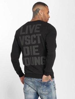 VSCT Clubwear Jumper Studded black