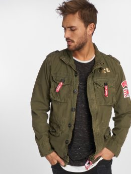 VSCT Clubwear Lightweight Jacket Customized Tiger khaki