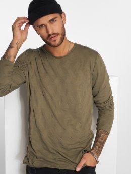 VSCT Clubwear Maglietta a manica lunga Wave cachi