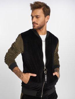 VSCT Clubwear Overgangsjakker Velour sort