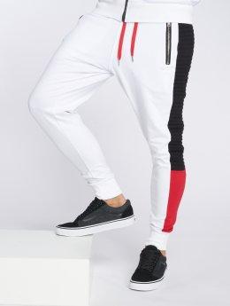 VSCT Clubwear Pantalone ginnico Biker bianco