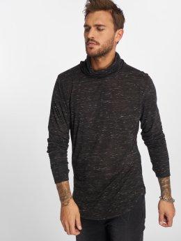 VSCT Clubwear Pitkähihaiset paidat  musta