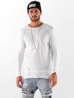 VSCT Clubwear Pitkähihaiset paidat Basic 2 in 1 valkoinen