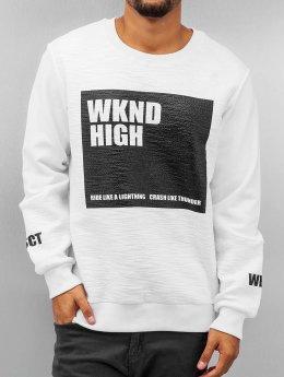 VSCT Clubwear Pullover WKND High weiß