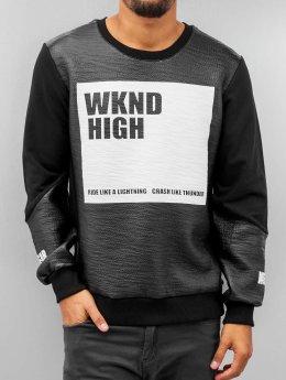 VSCT Clubwear Pulóvre WKND High èierna
