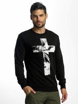 VSCT Clubwear Puserot Cross Palm Loose musta