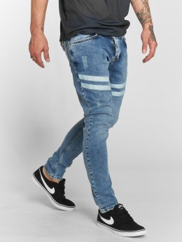 VSCT Clubwear Skinny jeans Nick Athletic Musclefit blå