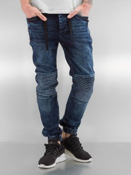 VSCT Clubwear Skinny Jeans Nano Cuffed blau