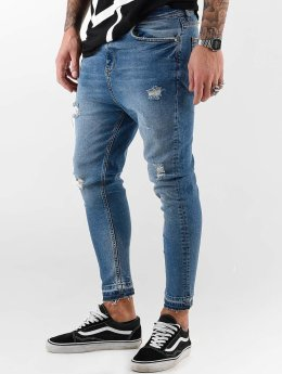 c4ccc423312e0 VSCT Clubwear Keanu Vintage Kneetcut `84 Skinny Jeans Mid Blue Stoned