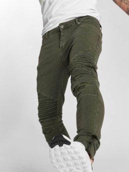 VSCT Clubwear Skinny Jeans Liam hnědožlutý