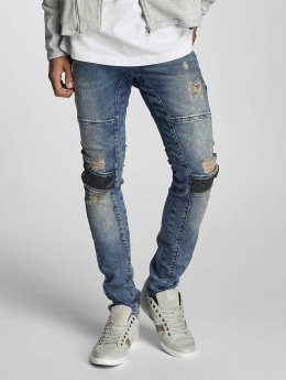 VSCT Clubwear Slim Fit -farkut Arnachy Heavy Biker sininen