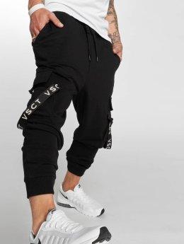 VSCT Clubwear Spodnie do joggingu Logo Tape czarny