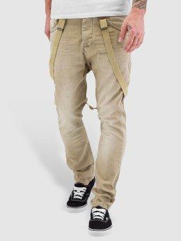 VSCT Clubwear Straight Fit farkut Brad Suspenders beige