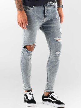VSCT Clubwear Straight Fit Jeans Chase  modrý
