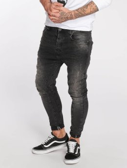 VSCT Clubwear Straight Fit Jeans Chase Heritage svart
