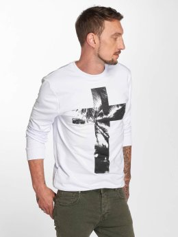 VSCT Clubwear Sweat & Pull Cross Palm Loose blanc