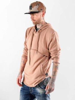VSCT Clubwear Sweat capuche Layer brun