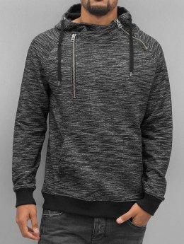 VSCT Clubwear Sweat capuche Shiro 2 Zip Moulinee Kangool gris
