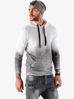 VSCT Clubwear Sweat capuche Biker  gris