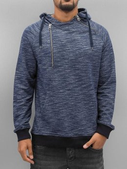 VSCT Clubwear Sweat capuche Shiro 2 Zip Moulinee Kangool indigo