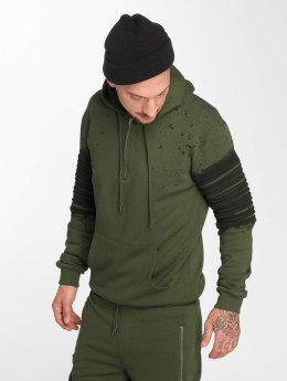 VSCT Clubwear Sweat capuche zippé Oiled kaki
