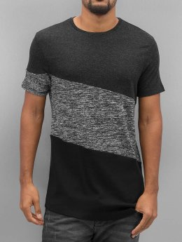 VSCT Clubwear T-Shirt Sate Mix Fabric grau