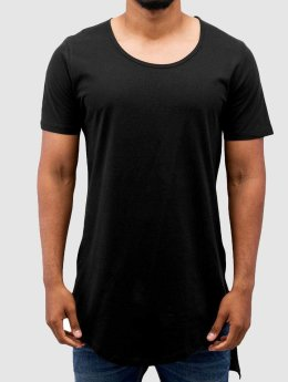 VSCT Clubwear T-shirt longoversize Roundneck Basic Long noir