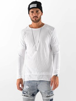 VSCT Clubwear T-Shirt manches longues Basic 2 in 1 blanc