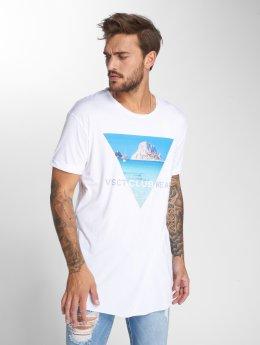 VSCT Clubwear Tričká Ibiza Logo Oversize biela