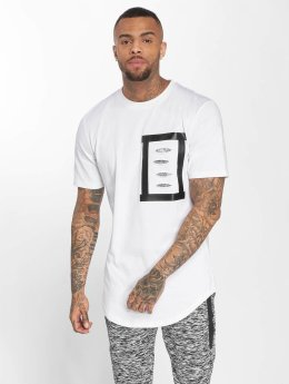 VSCT Clubwear Tričká Tape Design biela