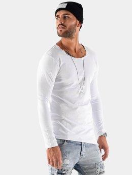 VSCT Clubwear Tričká dlhý rukáv Basic biela