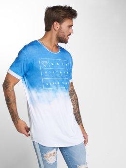 VSCT Clubwear Tričká Logo Fader Oversize modrá