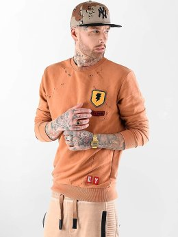 VSCT Clubwear trui Customized Patch Crew oranje