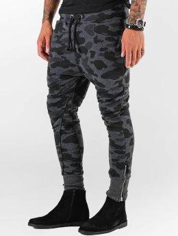 VSCT Clubwear Verryttelyhousut Camo harmaa