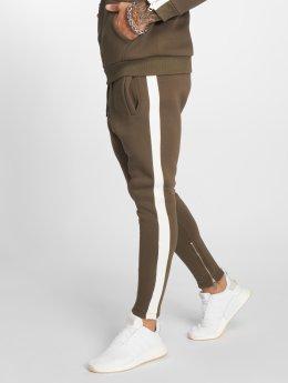 VSCT Clubwear Verryttelyhousut Stripe khakiruskea