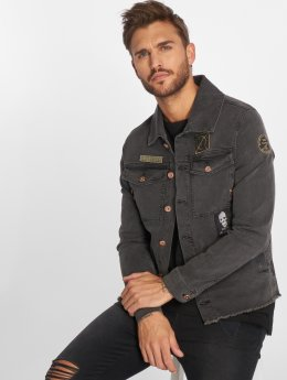 VSCT Clubwear Veste Jean Customized gris
